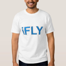 girls funny parody iFLY fly girl b-girl shirt