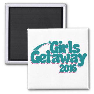 Girls getaway 2016 magnet