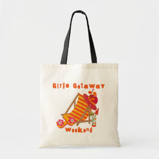 Girls Getaway Weekend T-shirts and Gifts Budget Tote Bag