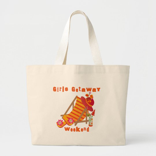 1e938a0e82e Girls Getaway Weekend T-shirts and Gifts Large Tote Bag