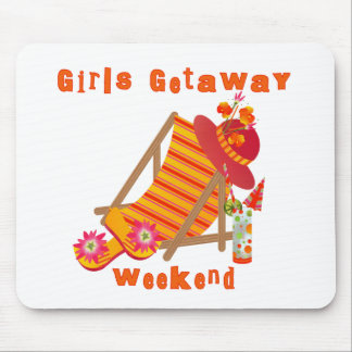 Girls Getaway Weekend T-shirts and Gifts Mouse Pad