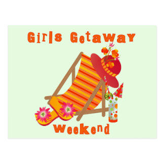 Girls Getaway Weekend T-shirts and Gifts Postcard