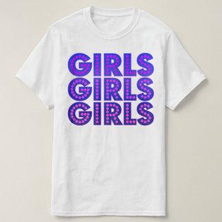 Girls Girls Girls Graphic T-Shirt