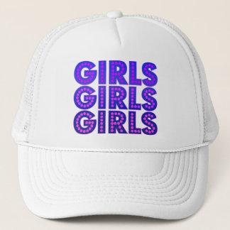 Girls Girls Girls Graphic Trucker Hat