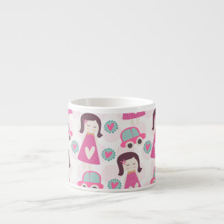 Girls Going Places Espresso Cup