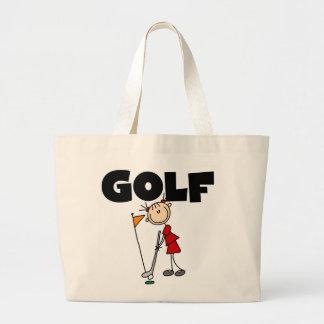 Girls GOLF Large Tote Bag