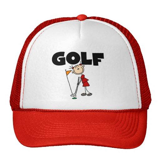Girls GOLF Mesh Hat