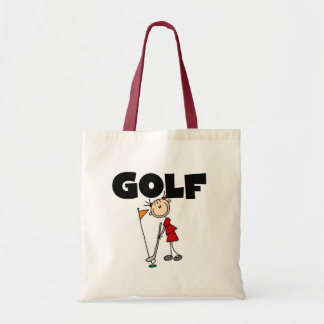 Girls GOLF T-shirts and Gifts Budget Tote Bag