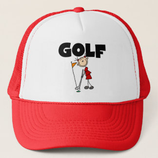 Girls GOLF Tshirts and Gifts Trucker Hat