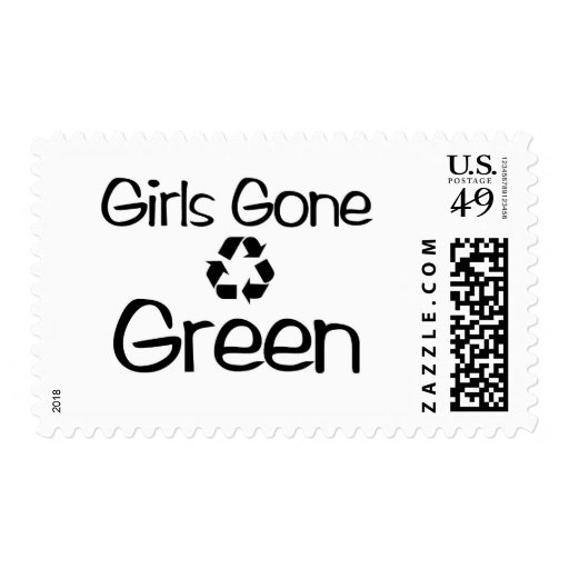 Girls Gone Green (map) Stamp