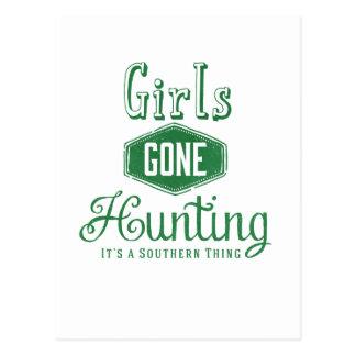 Girls Gone Hunting Postcard