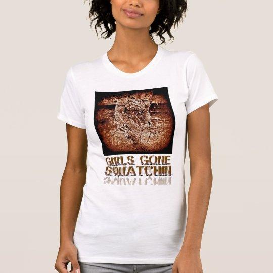 Girls Gone Squatchin T-shirt