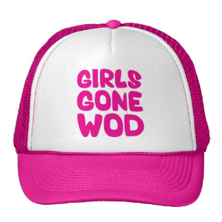 Girls Gone WOD (Crossfit Workout of the Day) Mesh Hat