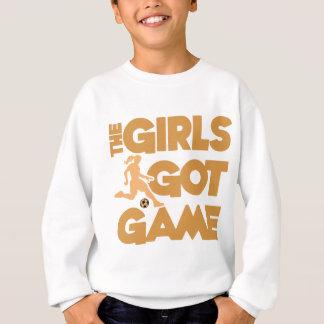 Girls Got Game, gold Sweatshirt