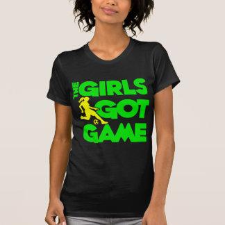 Girls Got Game, green2 Tshirt