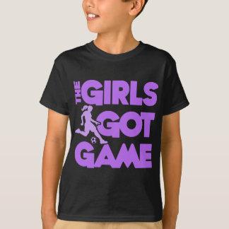 Girls Got Game, purple2 T-Shirt