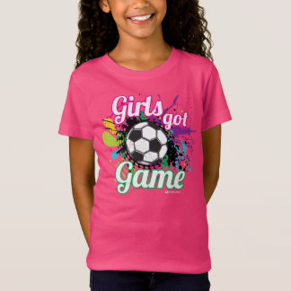 GIRLS GOT GAME SOCCER T-SHIRT