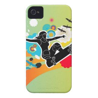Girls Gotta Sk8 iPhone 4 Case