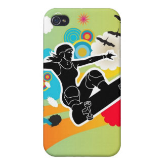 Girls Gotta Sk8 iPhone 4 Speck Case