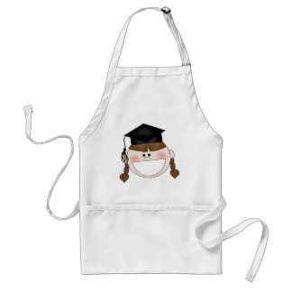 Girls Graduation T-shirts and Gifts Adult Apron