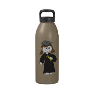 Girls Graduation Drinking Bottle