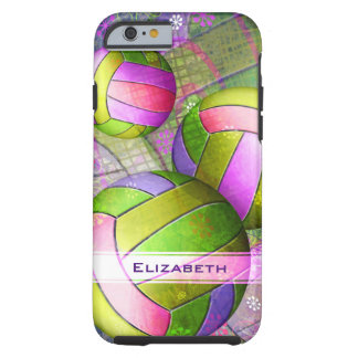 Girls' Grunge Volleyball Tough iPhone 6 Case