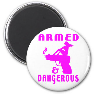 GIRLS & GUNS MAGNETS