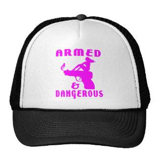 GIRLS & GUNS TRUCKER HAT