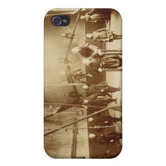 Girl's Gymnasium at the Deaf and Dumb Institution, iPhone 4 Cover