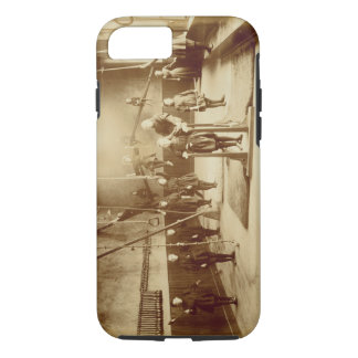 Girl's Gymnasium at the Deaf and Dumb Institution, iPhone 8/7 Case