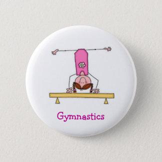Girls Gymnastics Button