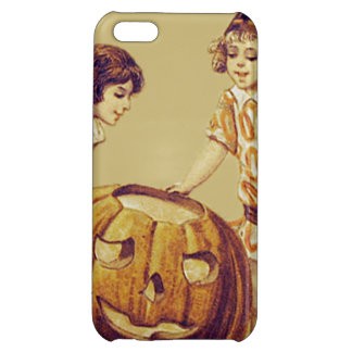 Girls Halloween Party Jack O' Lantern Pumpkin iPhone 5C Covers
