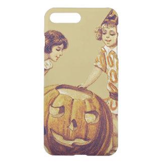 Girls Halloween Party Jack O' Lantern Pumpkin iPhone 8 Plus/7 Plus Case