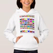 Girls' Hanes ComfortBlend® Hoodie Butterfly
