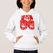 Girls' Hanes ComfortBlend® Hoodie Enjoy winter
