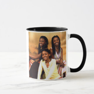 girls, HAPPY FATHERS DAY Mug