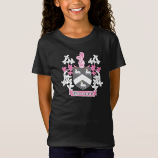 Girls Harmon Family Crest T-Shirt