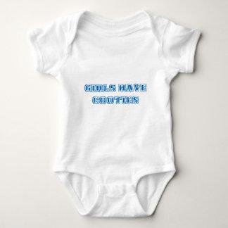 Girls Have Cooties Baby Bodysuit