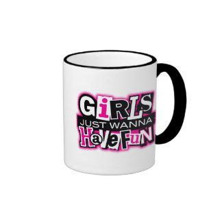 Girls Have Fun Ringer Mug