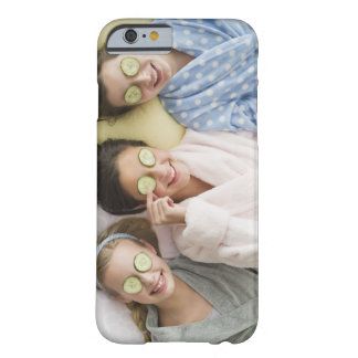 Girls having a facial barely there iPhone 6 case