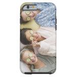 Girls having a facial tough iPhone 6 case