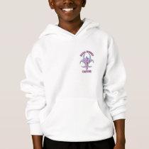 girl's Hazardous hoodie
