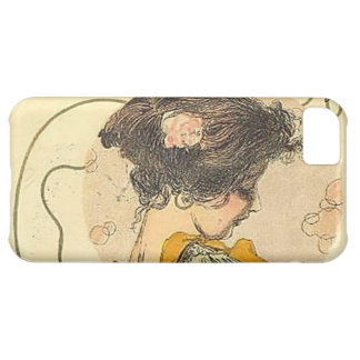 Girls Heads in a Circle 003 Case For iPhone 5C