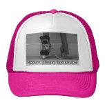 Girls Hockey is always Fashionable Trucker Hat