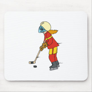 Girls Hockey Mouse Pad