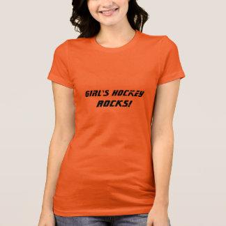 Girl's Hockey ROCKS! T-Shirt