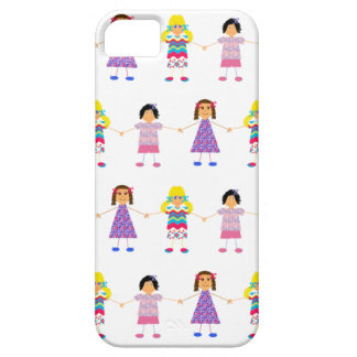 Girls Holding Hands iPhone SE/5/5s Case