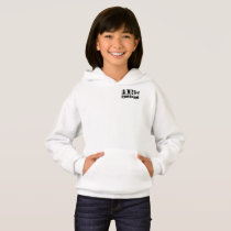 """Girls Hoodie """"Born Awesome"""""""