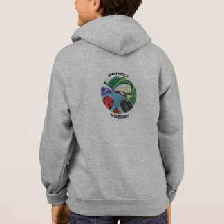 Girl's hoody - Bugs Help the Environment