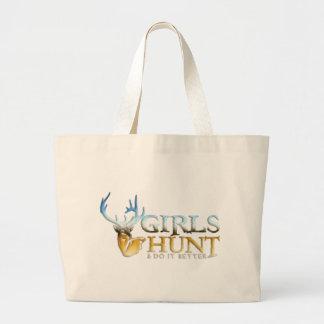 GIRLS HUNT DEER CANVAS BAGS